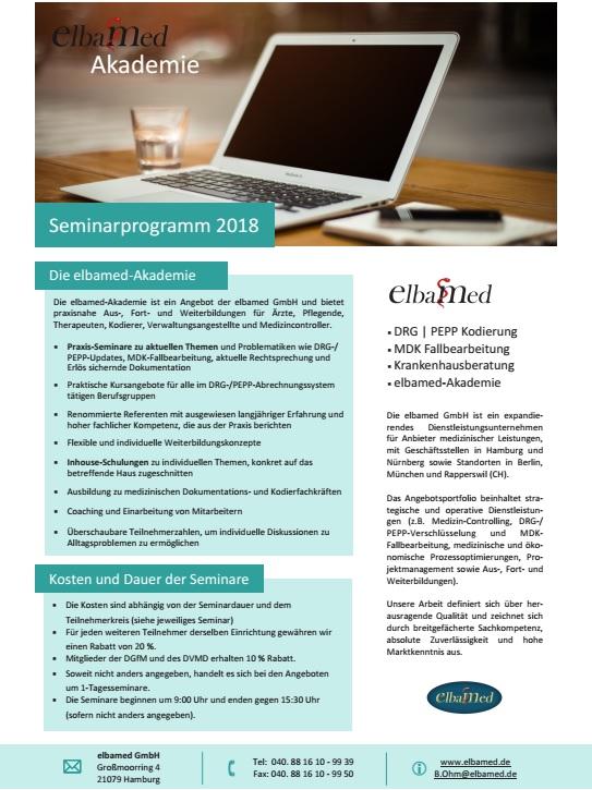 elbamed-Akademie: Seminare
